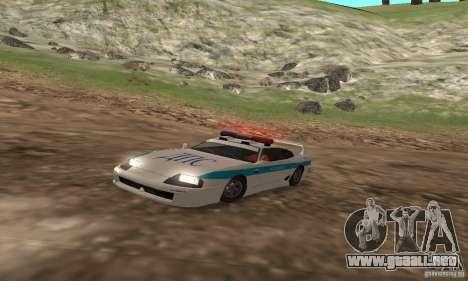Jester Russian Police para GTA San Andreas left