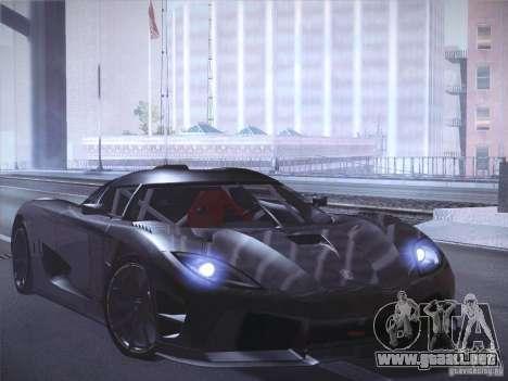Orange ENB by NF v1 para GTA San Andreas sexta pantalla