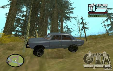AZLK-2140 4x4 para la visión correcta GTA San Andreas