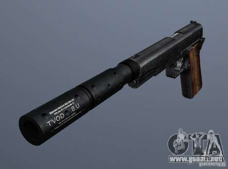 SilencedM1911 para GTA San Andreas