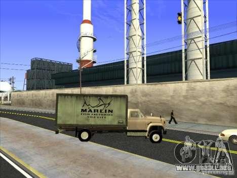 Yankee basado en GMC para la vista superior GTA San Andreas