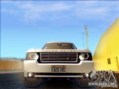 Land-Rover Range Rover Supercharged Series III para visión interna GTA San Andreas