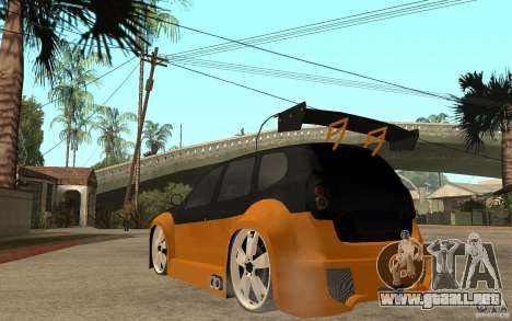 Dacia Duster Tuning v1 para GTA San Andreas vista posterior izquierda