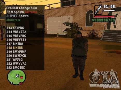 GTA IV peds to SA pack 100 peds para GTA San Andreas séptima pantalla