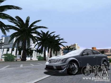 ENB Series by JudasVladislav v2.1 para GTA San Andreas sucesivamente de pantalla