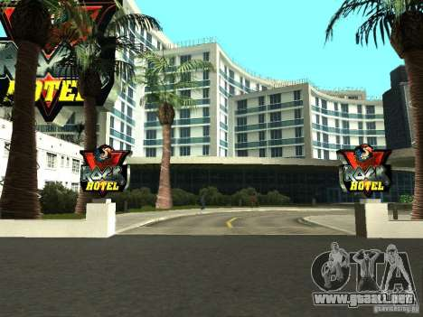 Nuevas texturas para V-Rock para GTA San Andreas segunda pantalla