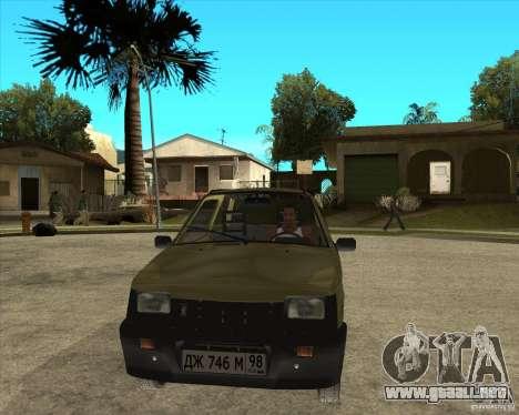 OKA 1111 Kamaz para GTA San Andreas vista hacia atrás