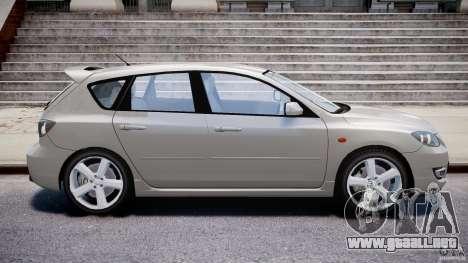 Mazda 3 2004 para GTA 4 left