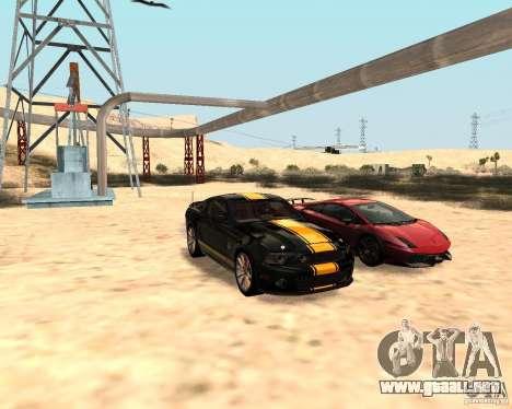 ENBSeries by Nikoo Bel para GTA San Andreas segunda pantalla