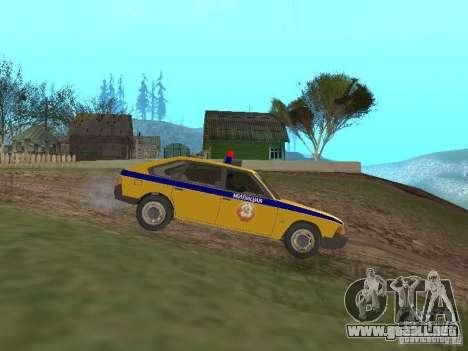 GAI AZLK 2141 para GTA San Andreas left