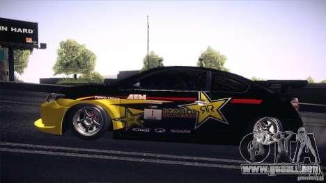 Scion TC Rockstar Team Drift para la visión correcta GTA San Andreas