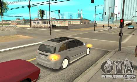 Mercedes-Benz R-Class para GTA San Andreas vista hacia atrás