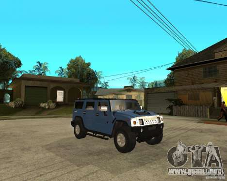 AMG H2 HUMMER para la visión correcta GTA San Andreas
