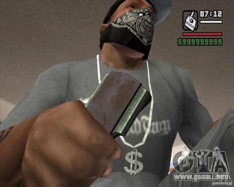 Detector de l. a. t. s. k. e. R # 4 para GTA San Andreas tercera pantalla