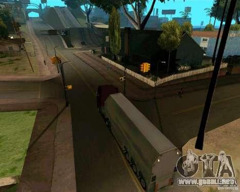 Remolque Steklovoz para la visión correcta GTA San Andreas