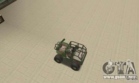 Jeep Willys Rock Crawler para la vista superior GTA San Andreas