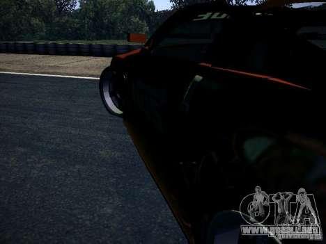 Nissan 370Z Chris Forsberg para vista lateral GTA San Andreas