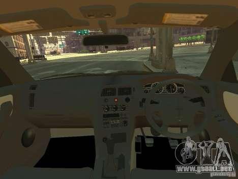 Nissan Skyline GT-R V-Spec (R33) para GTA 4 vista hacia atrás