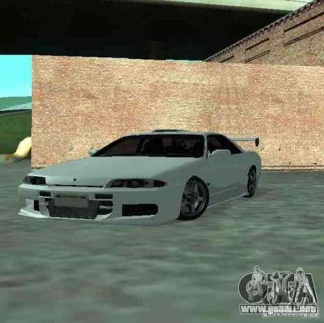 Nissan Skyline R32 GT-R para vista lateral GTA San Andreas