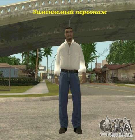 Assassins skins para GTA San Andreas sucesivamente de pantalla