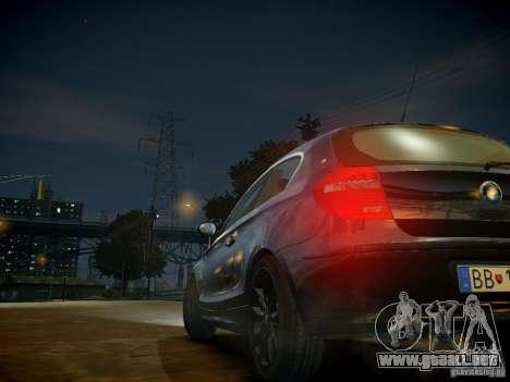 BMW 120i para GTA 4 vista desde abajo