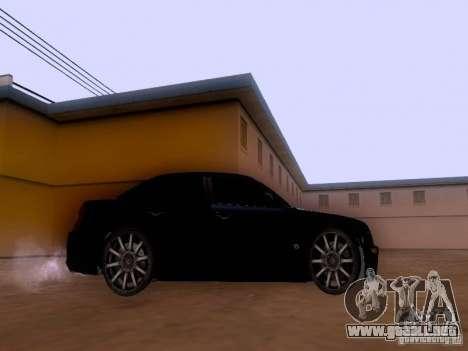 Chrysler 300 c SRT8 2007 para GTA San Andreas vista posterior izquierda