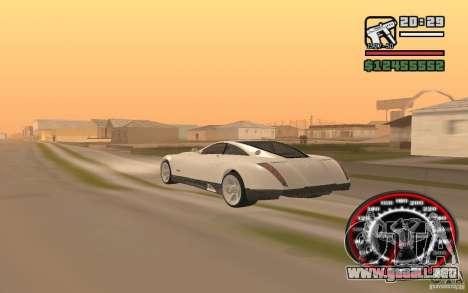 Maybach Exelero para GTA San Andreas left