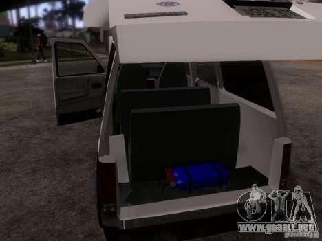 Plymouth Grand Voyager 1970 para visión interna GTA San Andreas