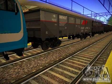 Nuevos carriles para GTA San Andreas sexta pantalla