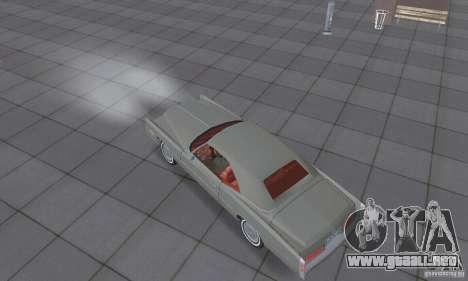 Cadillac Eldorado Convertible 1976 para la visión correcta GTA San Andreas