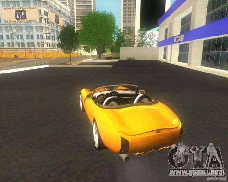 TVR Tuscan para GTA San Andreas
