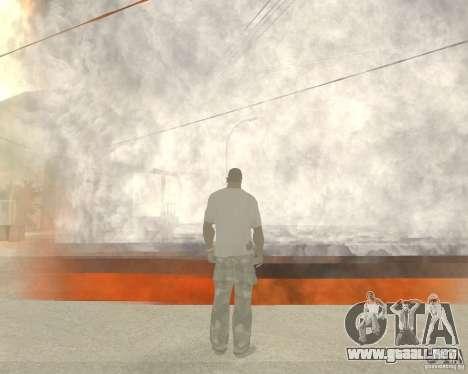 Tornado para GTA San Andreas tercera pantalla