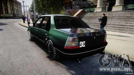 Chevrolet Monza GLS 96 para GTA 4 Vista posterior izquierda