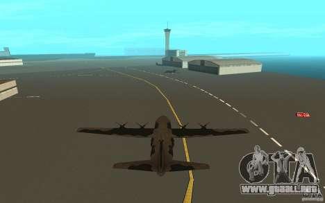 C-130 From Black Ops para la visión correcta GTA San Andreas