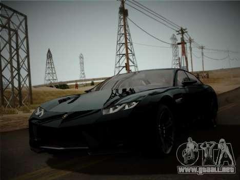 Lamborghini Estoque Concept 2008 para GTA San Andreas left
