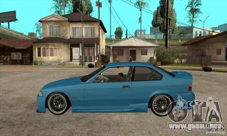 BMW M3 HAMMAN para GTA San Andreas left