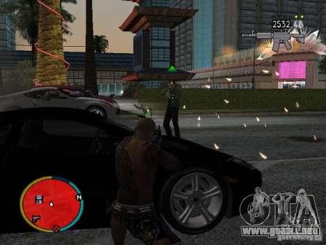 GTA IV HUD v2 by shama123 para GTA San Andreas tercera pantalla