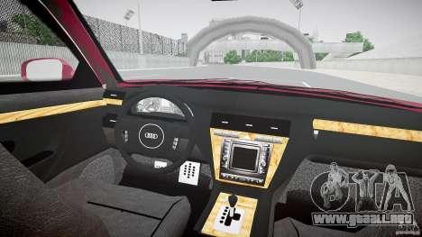 Audi A8 6.0 W12 Quattro (D2) 2002 para GTA 4 visión correcta