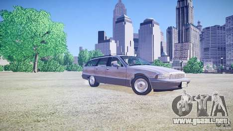 Chevrolet Caprice Civil 1992 v1.0 para GTA 4