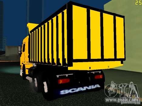 Scania 113H para GTA San Andreas left