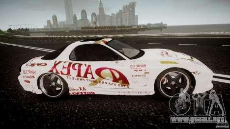 Mazda RX7 FD Apex Imamura para GTA 4 vista interior