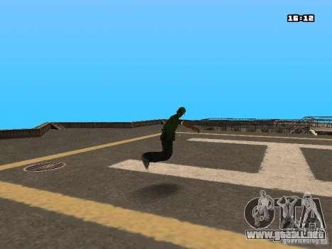 Parkour Mod para GTA San Andreas twelth pantalla
