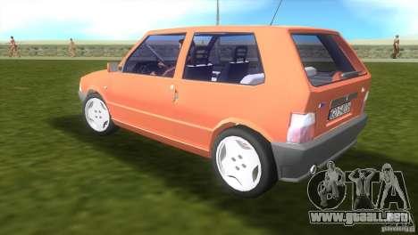 Fiat Uno para GTA Vice City left