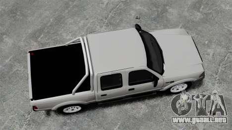Ford Ranger 2008 XLR para GTA 4 visión correcta