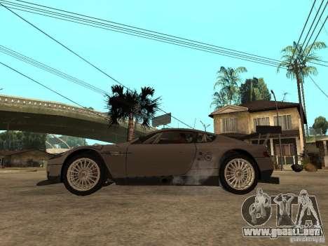 Aston Martin DBR9 Sport para GTA San Andreas