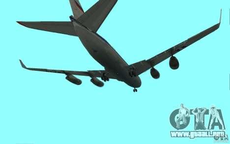 Ilyushin Il-96 para la visión correcta GTA San Andreas