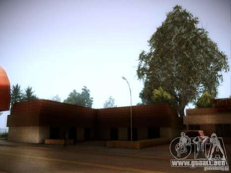 New trees HD para GTA San Andreas segunda pantalla