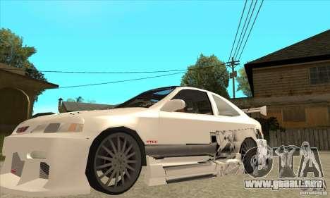 Honda Civic Tuning Tunable para las ruedas de GTA San Andreas