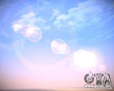 Real Clouds HD para GTA San Andreas sucesivamente de pantalla