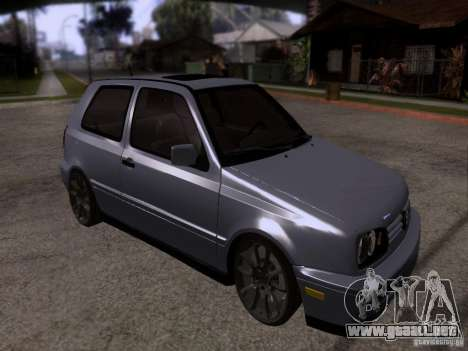 Volkswagen Golf 3 VR6 para GTA San Andreas